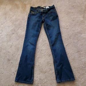 Levi's 524 Too Superlow Jeans size 5 M Dark Wash